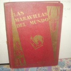 Coleccionismo Álbum: LAS MARAVILLAS DEL MUNDO COMPLETO 480 CROMOS. 40 SERIES. NESTLÉ 1932. MUY BUEN ESTADO. PORTES GRATIS. Lote 141759166