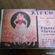 Coleccionismo Álbum: ALBUM CROMOS COMPLETO BLANCANIEVES FHER BILBAO BLANCA NIEVES WHITESNOW CROMO ALBUN . Lote 141786842