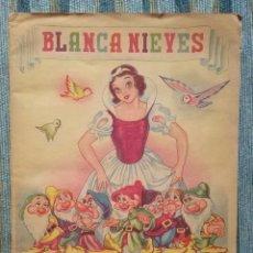 Coleccionismo Álbum: ALBUM DE CROMOS BLANCANIEVES Y LOS SIETE ENANOS (COMPLETO) - WALT DISNEY (FHER 1941) - PRECIOSO-. Lote 141797782