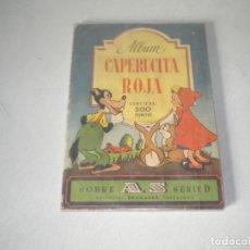 Coleccionismo Álbum: CAPERUCITA ROJA. Lote 141864466