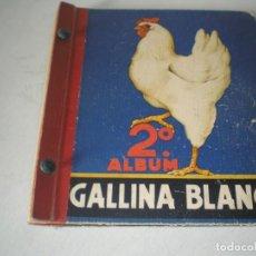Coleccionismo Álbum: 2º ALBUM DE GALLINA BLANCA COMPLETO. Lote 141865426