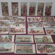 Coleccionismo Álbum: VALLADOLID COLECCIÓN COMPLETA DE 24 CROMOS LA UNION MONTAÑESA, AMADOR GARCIA , FABRICA DE CHOCOLATES. Lote 141884934