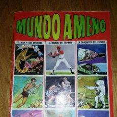 Coleccionismo Álbum: ALBUM MUNDO AMENO. BRUGUERA. COMPLETO. Lote 141888402