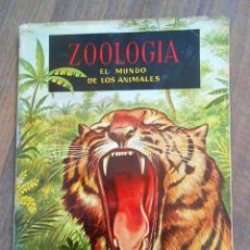 Coleccionismo Álbum: ALBUM DE CROMOS ZOOLOGIA COMPLETO FERCA 1961 ALBUN ALFREEDOM ANIMALES ESTAMPAS CARDS CROMO. Lote 142054698