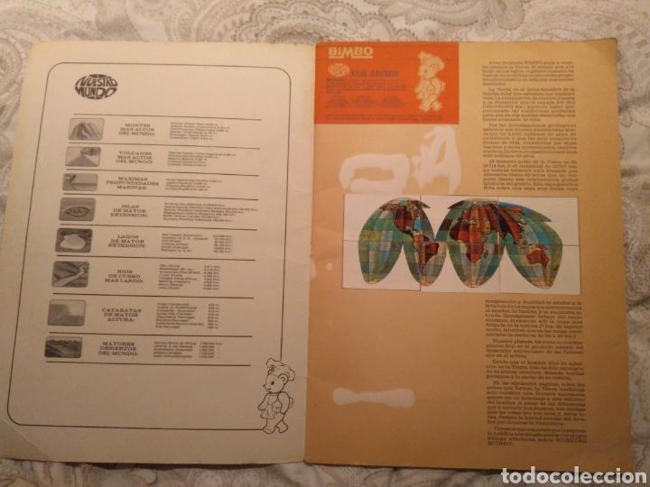 Coleccionismo Álbum: Nuestro mundo. Album de cromos completo de Atlas ilustrado de bimbo de 1968. - Foto 2 - 142098282