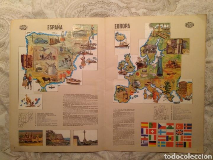 Coleccionismo Álbum: Nuestro mundo. Album de cromos completo de Atlas ilustrado de bimbo de 1968. - Foto 3 - 142098282