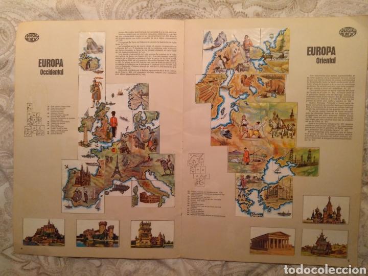Coleccionismo Álbum: Nuestro mundo. Album de cromos completo de Atlas ilustrado de bimbo de 1968. - Foto 4 - 142098282