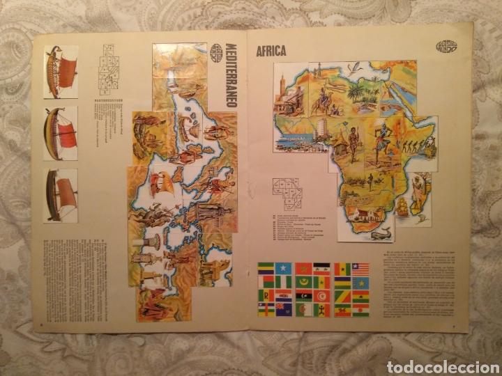 Coleccionismo Álbum: Nuestro mundo. Album de cromos completo de Atlas ilustrado de bimbo de 1968. - Foto 5 - 142098282