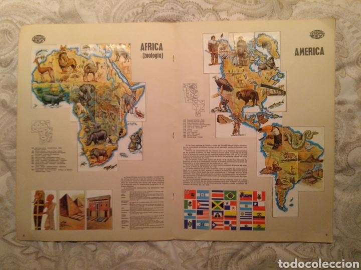 Coleccionismo Álbum: Nuestro mundo. Album de cromos completo de Atlas ilustrado de bimbo de 1968. - Foto 6 - 142098282