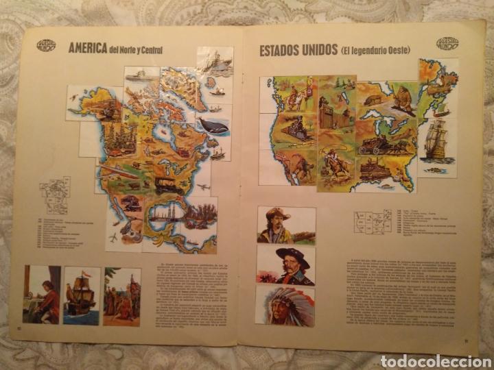 Coleccionismo Álbum: Nuestro mundo. Album de cromos completo de Atlas ilustrado de bimbo de 1968. - Foto 7 - 142098282