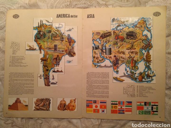 Coleccionismo Álbum: Nuestro mundo. Album de cromos completo de Atlas ilustrado de bimbo de 1968. - Foto 8 - 142098282