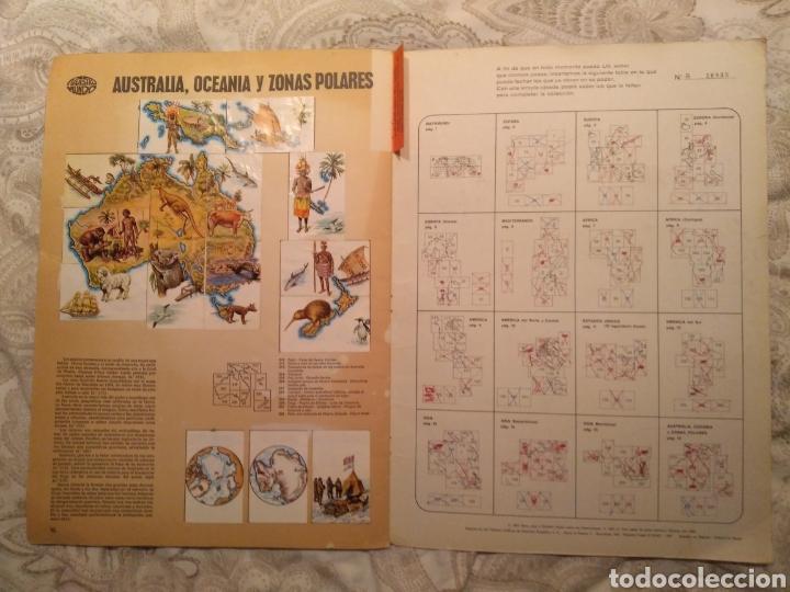 Coleccionismo Álbum: Nuestro mundo. Album de cromos completo de Atlas ilustrado de bimbo de 1968. - Foto 10 - 142098282