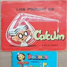 Coleccionismo Álbum: CALCULIN+TRAPITO (ALBUMS DE CROMOS DE PETETE). Lote 142123418