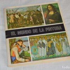 Coleccionismo Álbum: ANTIGUO ALBUM DE CROMOS COMPLETO - EL MUNDO DE LA PINTURA - DIFUSORA DE CULTURA SA - ENVÍO 24H. Lote 142241906