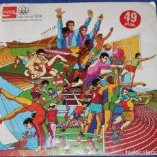 Coleccionismo Álbum: MONTREAL 1976 - HISTORIA DE LOS JUEGOS OLÍMPICOS - COCA COLA. Lote 142288190