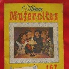 Coleccionismo Álbum: ÁLBUM CROMOS MUJERCITAS EDITORIAL CLIPER 1952 COMPLETO. Lote 32040426