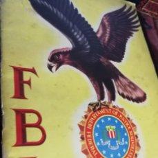 Coleccionismo Álbum: ALBUM FBI COMPLETO 200 CROMOS. Lote 142595794