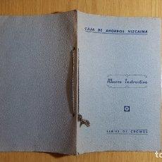 Coleccionismo Álbum: CAJA DE AHORROS VIZCAINA - AHORRO INSTRUCTIVO - ÁLBUM COMPLETO. Lote 142681780