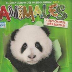 Coleccionismo Álbum: EL GRAN ÁLBUM DEL MUNDO ANIMAL 2013 -- ANIMALES. Lote 142761086