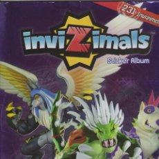 Coleccionismo Álbum: INVIZIMALS + INVIZIMALS EVOLUTION. Lote 142851682