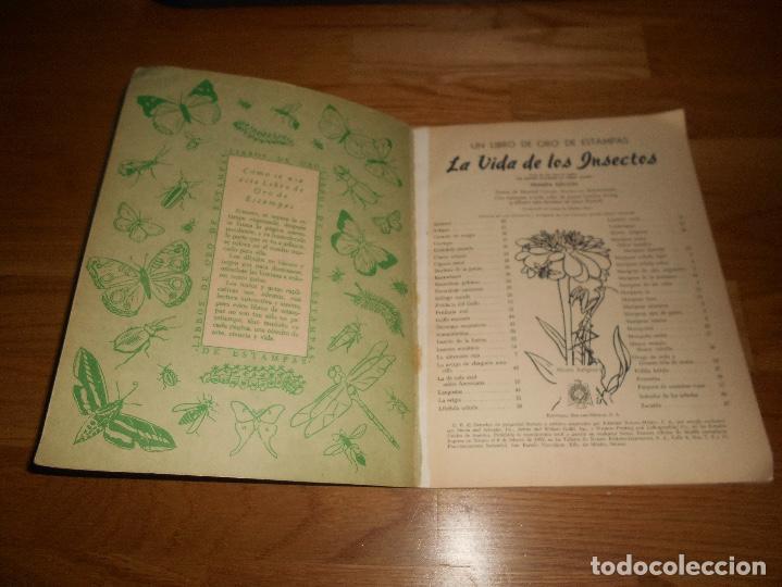 Coleccionismo Álbum: Álbum de Cromos Completo / Nuevo - Vida de los Insectos - Un Libro de Oro Estampas - Nº 10 - Novaro - Foto 2 - 142856798