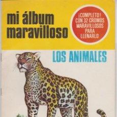 Coleccionismo Álbum: MI ÁLBUM MARAVILLOSO -- Nº 1 LOS ANIMALES . Lote 143026846