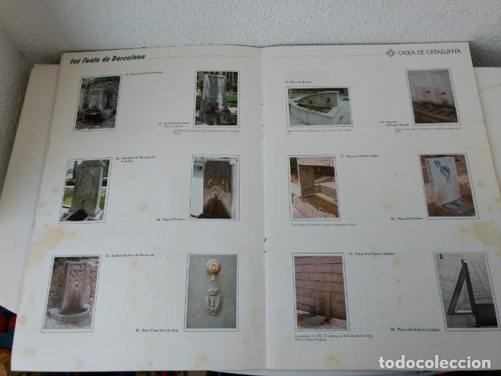 Coleccionismo Álbum: ALBUM CROMOS COMPLETO - LES FONTS DE BARCELONA - (LAS FUENTES DE BARCELONA) - 1987 - Foto 2 - 143103534