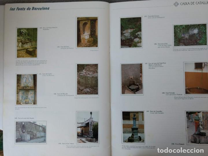 Coleccionismo Álbum: ALBUM CROMOS COMPLETO - LES FONTS DE BARCELONA - (LAS FUENTES DE BARCELONA) - 1987 - Foto 4 - 143103534