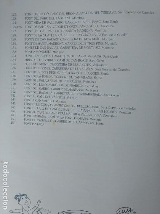 Coleccionismo Álbum: ALBUM CROMOS COMPLETO - LES FONTS DE BARCELONA - (LAS FUENTES DE BARCELONA) - 1987 - Foto 5 - 143103534