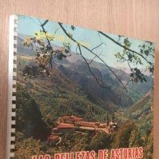 Coleccionismo Álbum: LAS BELLEZAS DE ASTURIAS. ALBUM COMPLETO. CROMOASTUR S.L 1965. Lote 143138314