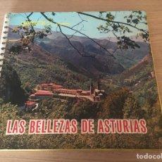 Coleccionismo Álbum: LAS BELLEZAS DE ASTURIAS. ALBUM COMPLETO. CROMOASTUR S.L 1965. Lote 143138574