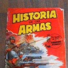 Coleccionismo Álbum: ALBUM CROMOS COMPLETO HISTORIA DE LAS ARMAS CRISOL ALBUN ARMY GUERRA TANQUES . Lote 143154810