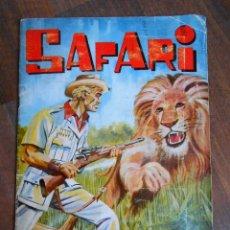 Coleccionismo Álbum: ALBUM CROMOS COMPLETO SAFARI EDITORIAL FERCA CON 210 CROMO ALBUN AFRICA ANIMALES KENYA. Lote 143155194