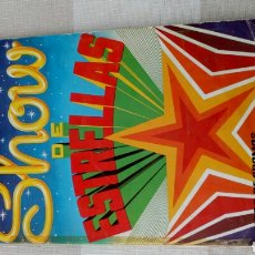 Coleccionismo Álbum: ALBUM MAGA SHOW DE ESTRELLAS. 1982.. Lote 143261577