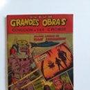 Coleccionismo Álbum: ALBUM CROMOS COMPLETO GRANDES OBRAS.. Lote 143280666