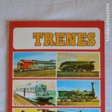 Coleccionismo Álbum: TRENES. EDICIONES SUSAETA. 1971. ROMANJUGUETESYMAS.. Lote 143297062