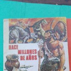Coleccionismo Álbum: ALBUM HACE MILLONES DE AÑOS CASI COMPLETO. Lote 143302150