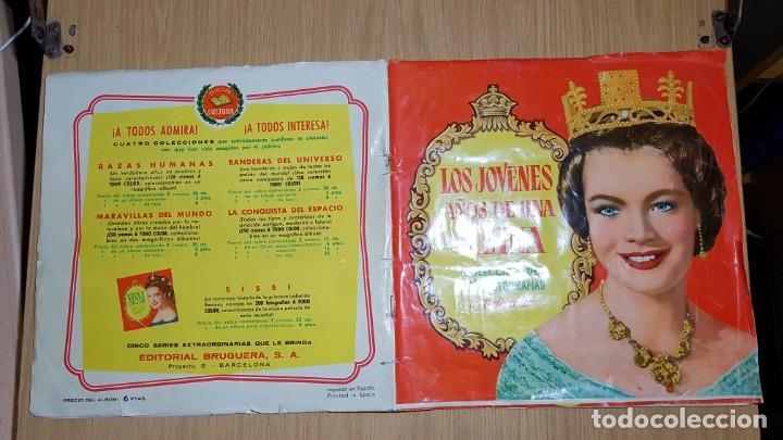 BRUGUERA - LOS JOVENES AÑOS DE UNA REINA - ALBUM COMPLETO (Coleccionismo - Cromos y Álbumes - Álbumes Completos)