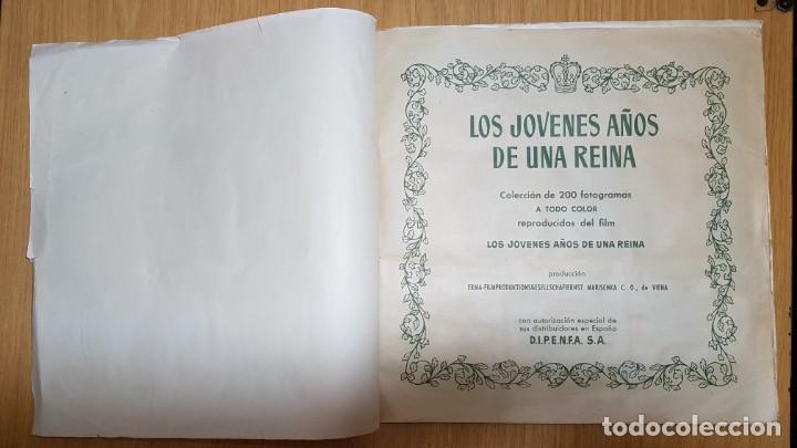 Coleccionismo Álbum: BRUGUERA - LOS JOVENES AÑOS DE UNA REINA - ALBUM COMPLETO - Foto 2 - 143363546