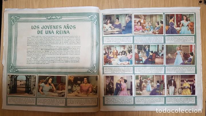 Coleccionismo Álbum: BRUGUERA - LOS JOVENES AÑOS DE UNA REINA - ALBUM COMPLETO - Foto 3 - 143363546