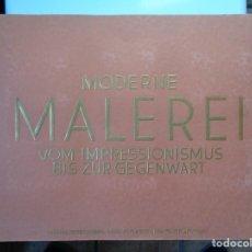Coleccionismo Álbum: MODERNE MALEREI, ANTIGUA ALEMAN 1933 IMPRESSIONISMUS-GEGENWART CON SU FUNDA -COMPLETO-. Lote 143388138