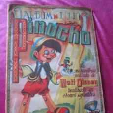 Coleccionismo Álbum: PINOCHO ALBUM DE LUJO COMPLETO FHER . Lote 143581442
