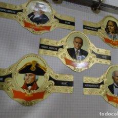 Coleccionismo Álbum: VITOLAS 100 PERSONAJES (MUNT) -MOSAICOS - AVIACIÓN- BANDERAS-HOÓSCOPO-SERIE DE MURILLO (PAISAJES. Lote 143686702