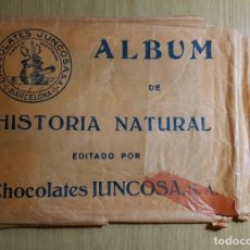 Coleccionismo Álbum: CHOCOLATE JUNCOSA - ÁLBUM DE HISTORIA NATURAL TOMO 6 AMERICA DEL NORTE - ÁLBUM VACIO + TODOS CROMOS. Lote 143819230