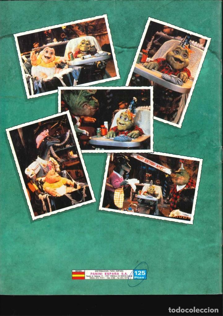 Coleccionismo Álbum: ALBUM DE CROMOS DINOSAURS COMPLETO BUEN ESTADO - Foto 2 - 143971386