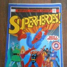 Coleccionismo Álbum: ALBUM CROMOS COMPLETO SUPERHEROES MARVEL EDITORIAL ESTE 1988 SUPER HEROES SPIDERMAN MEFISTO CONAN. Lote 144007898