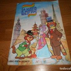 Coleccionismo Álbum: ALBUM DE CROMOS LA VUELTA AL MUNDO DE WILLY FOG. EDIT. MAGA. 1983. COMPLETO. Lote 144327270