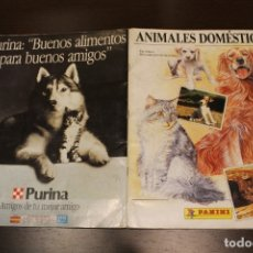 Coleccionismo Álbum: PANINI - ANIMALES DOMESTICOS - ÁLBUM COMPLETO. Lote 56964098