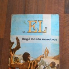 Coleccionismo Álbum: ALBUM CROMOS COMPLETO Y EL LLEGO HASTA NOSOTROS CHOCOLATES LOYOLA 1965 ALBUN JESUS CRISTIANISMO. Lote 144443178