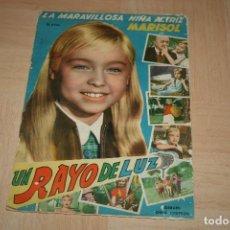 Coleccionismo Álbum: ÁLBUM MARISOL UN RAYO DE LUZ EDITORIAL FHER AÑO 1960 (COMPLETO). Lote 144564130